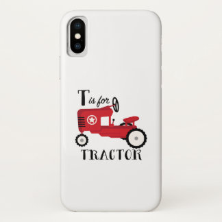 T For Tractor iPhone X Case
