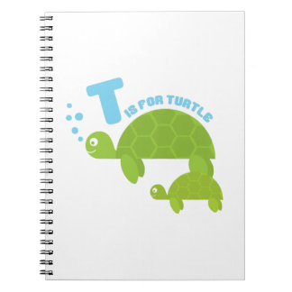 T for Turtle Note Book