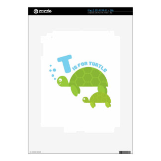T for Turtle Skin For iPad 2