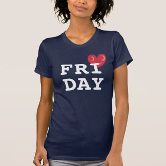 T.G.I.F. I Love Friday Shirt