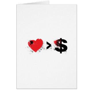 t heart card
