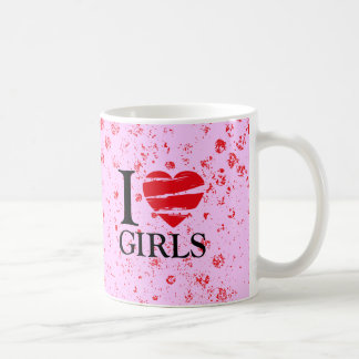 T heart coffee mug