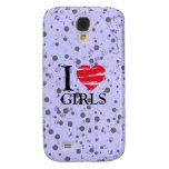 T heart galaxy s4 cases