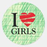 T heart sticker