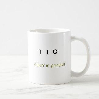 T I G, (takin en rutinas!) Tazas De Café