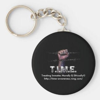 T.I.M.E. Keychain - Hand on a Wire