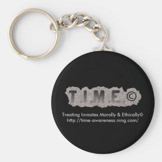 T.I.M.E. Keychain - Logo