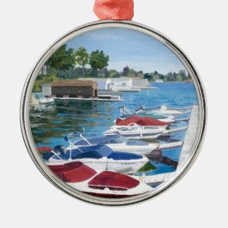 T I PARK Marina Metal Ornament