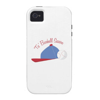 T is Baseball Season iPhone 4/4S Covers