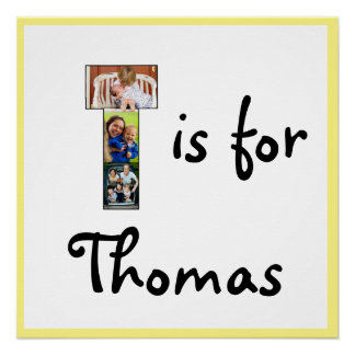 T is for Name Poster