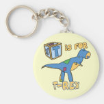 T is for T-Rex Keychain