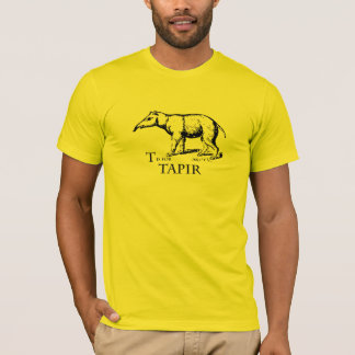 T is for Tapir t-shirt
