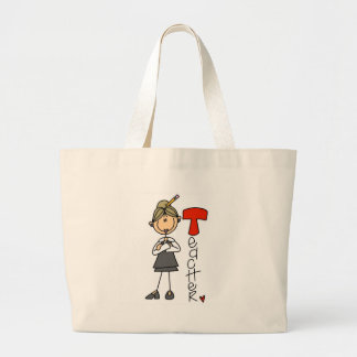 T is for Teacher Canvas Bags