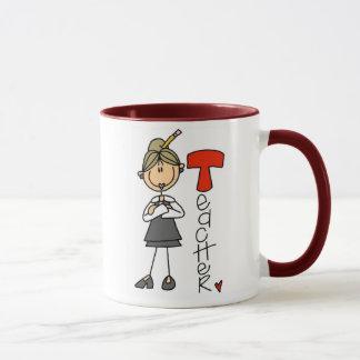 T is for Teacher Mug