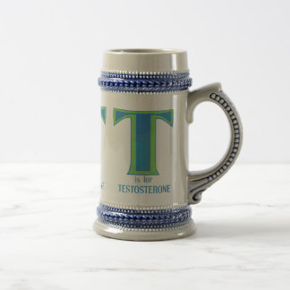T is for Testosterone Mugs