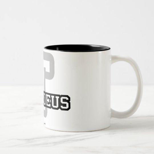 T is for Thaddeus Two-Tone Coffee Mug