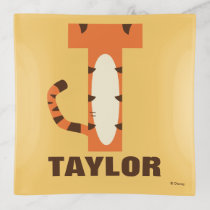 T is for Tigger | Add Your Name Trinket Trays
