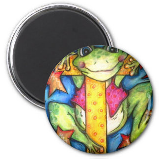 T is for Toad 2 Inch Round Magnet