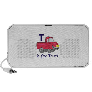 T IS FOR TRUCK MP3 SPEAKERS