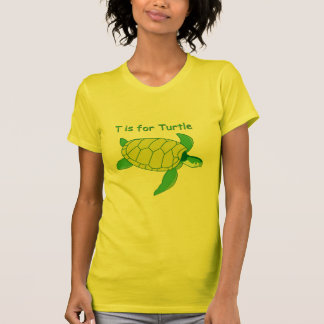 T is for Turtle Tee Shirts