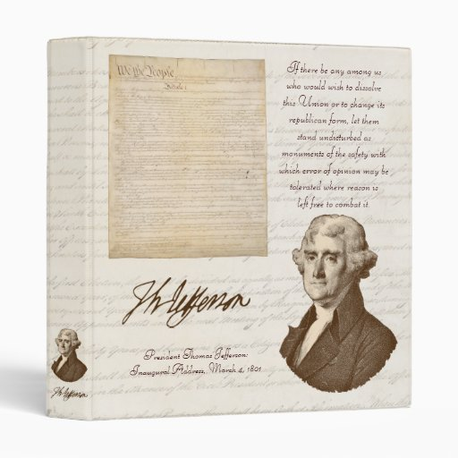 T. Jefferson: Opinion & Reason - Binder