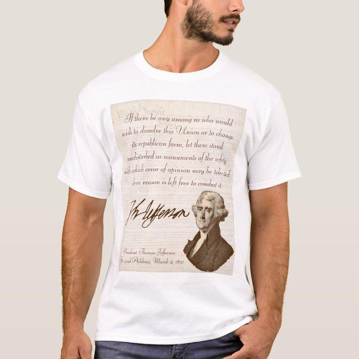 T. Jefferson: Opinion & Reason - Kid's T-Shirt #1