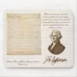 T. Jefferson: Opinion & Reason - Mousepad