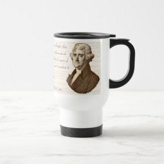 T. Jefferson: Opinion & Reason - Mug #3