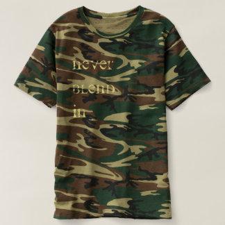 T. K. Co. never BLEND in T-shirt