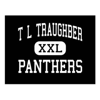 T L Traughber - Panthers - Junior - Oswego Postcard