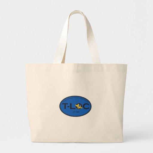 T-Loc Goodnotgood Blue Canvas Bag