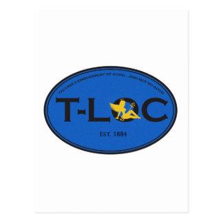T-Loc Goodnotgood Blue Postcard