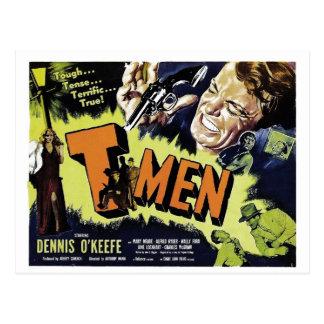 T-Men Postcard