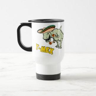 T-Mex T-Rex Mexican Tyrannosaurus Dinosaur Travel Mug