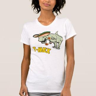 T-Mex T-Rex Mexican Tyrannosaurus Dinosaur Tshirts