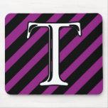 T Monogram Mouse Pads