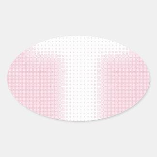 T Monogram.pdf Oval Sticker