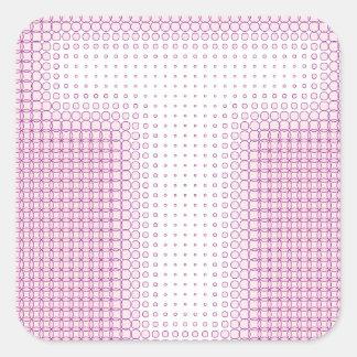 T Monogram.pdf Square Sticker