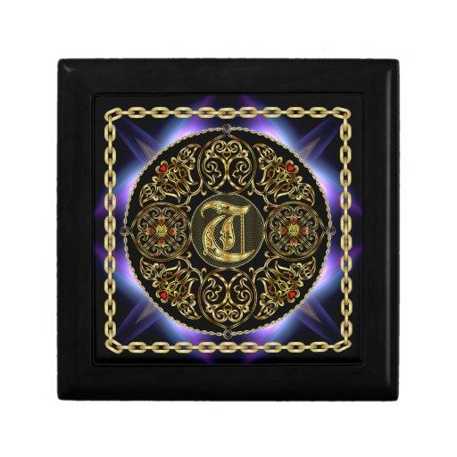 T Monogram Premium Best viewed large. see notes Trinket Box