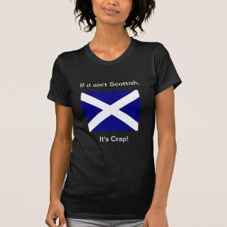 T oscuro de Scot o de la mujer de la mierda Playeras