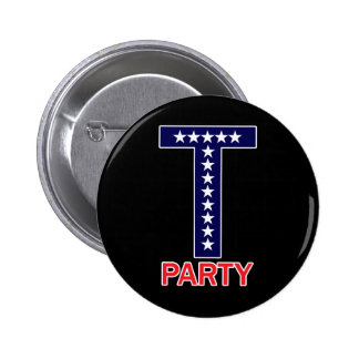 T Party Buttons