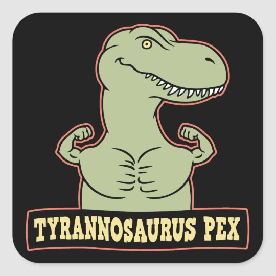 T-Pex Square Sticker