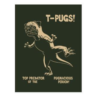 T-PUGS! POSTCARD