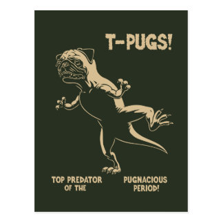 ¡T-PUGS! POSTALES