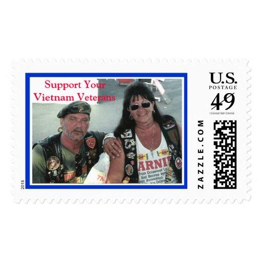 T&R, apoyan a sus veteranos de Vietnam Franqueo