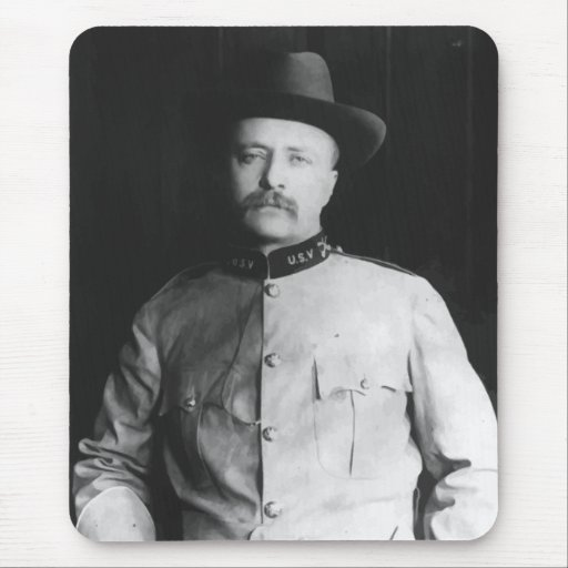T.R. During His War Service Mousepads