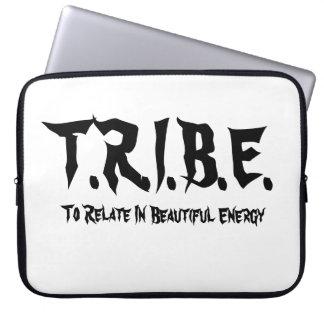 T.R.I.B.E. - Caja blanca del ordenador portátil Fundas Ordendadores