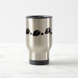 T.R.I.B.E. Taza de café del viaje