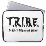 T.R.I.B.E. - White Laptop Case Computer Sleeve