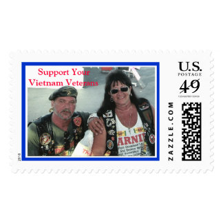 T&R, Support Your Vietnam Veterans Postage